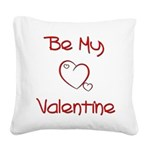 bemine Square Canvas Pillow