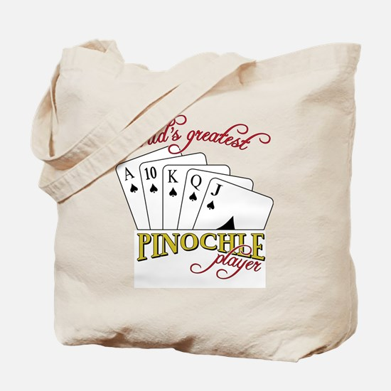 Pinochle Player Tote Bag