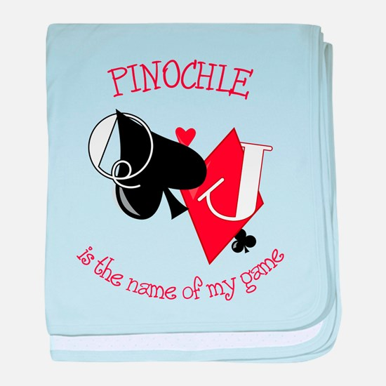 Pinochle baby blanket