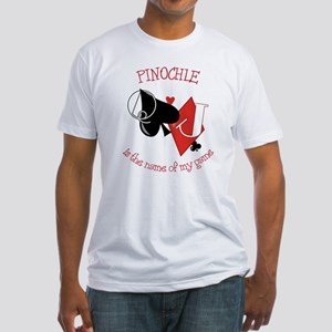 Pinochle Fitted T-Shirt