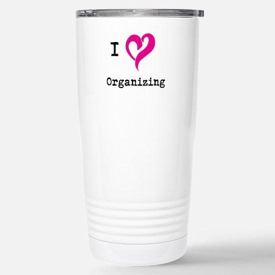 I 3 Organizing Stainless Steel Travel Mug