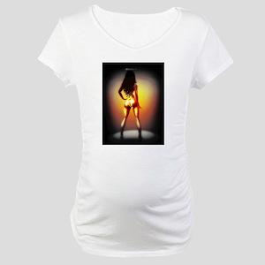 wheres the pole Maternity T-Shirt