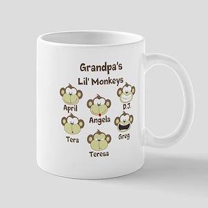 Grand kids monkeys Mug