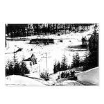 Postcards (Package of 8) Talley-Ho Skiboggan