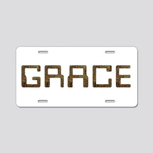 Grace Circuit Aluminum License Plate