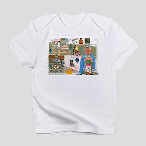 Mr. Pumpkin Depot Loves the Movies. Infant T-Shirt