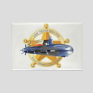 USS Texas 775 Rectangle Magnet