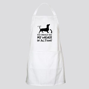You Should See My WIENER... BBQ Apron