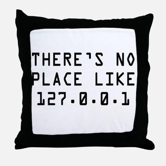 noplace.jpg Throw Pillow