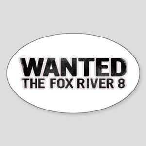 Fox River 8 Oval Sticker