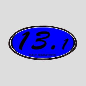 Oval 13.1 Half Marathon Blue.png Patches