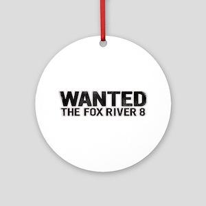 Fox River 8 Ornament (Round)