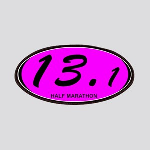 Pink Oval 13.1 Half Marathon.png Patches