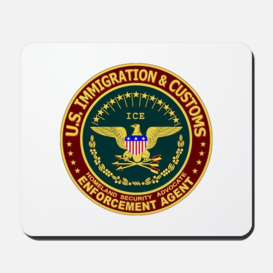 IMMIGRATION & CUSTOMS - ICE:  Mousepad