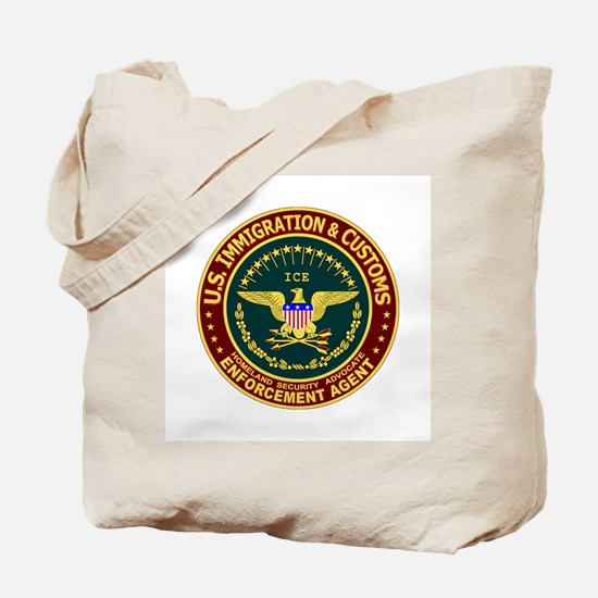 IMMIGRATION & CUSTOMS - ICE:  Tote Bag
