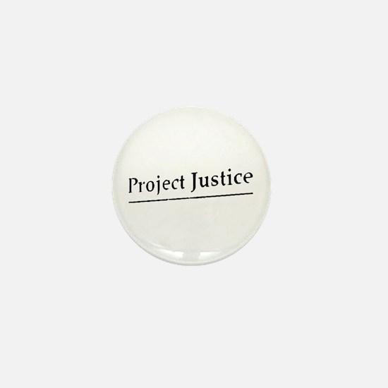 Project Justice Mini Button