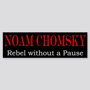 Chomsky Bumper Sticker