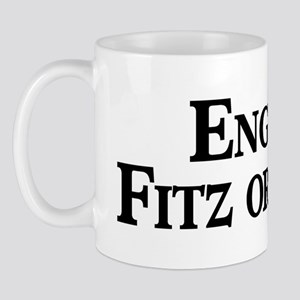 English, Fitz or Percy Mug
