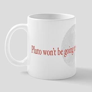 No School for Pluto Mug