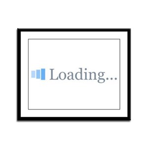 Loading...Obama 2012 Framed Panel Print