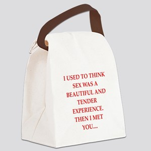 sex Canvas Lunch Bag