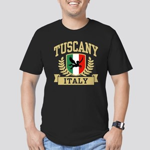 Tuscany Italy Men's Fitted T-Shirt (dark)