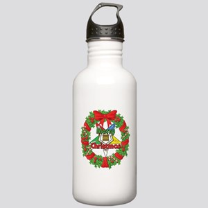 OES Wreath Stainless Water Bottle 1.0L