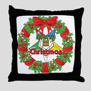 OES Wreath Throw Pillow