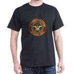 IMMIGRATION and CUSTOMS ICE:  Black T-Shirt