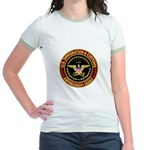 IMMIGRATION and CUSTOMS ICE: Jr. Ringer T-Shirt