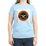 IMMIGRATION and CUSTOMS ICE: Women's Pink T-Shirt