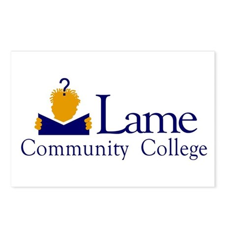 Lame Community College Postcards (Package of 8)