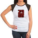 TO-BA-GO Women's Cap Sleeve T-Shirt