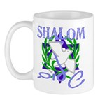 Jewish Peace (Shalom) Mug