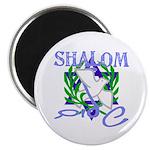 Jewish Peace (Shalom) Magnet