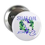 Jewish Peace (Shalom) Button