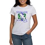 Jewish Peace (Shalom) Women's T-Shirt