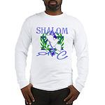 Jewish Peace (Shalom) Long Sleeve T-Shirt