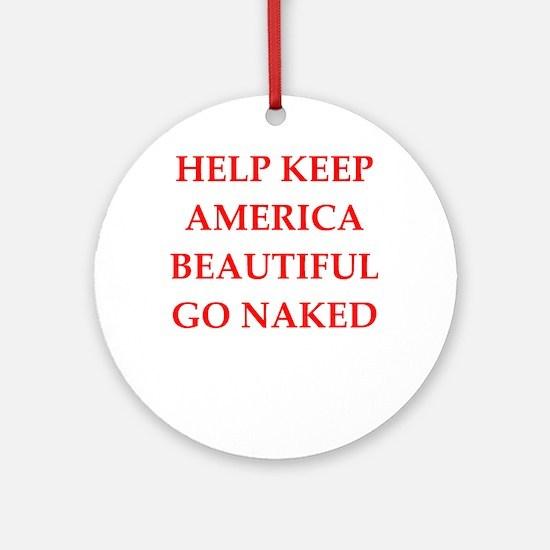 keep america Ornament (Round)
