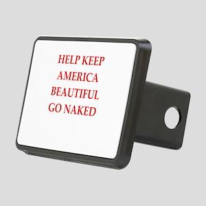 keep america Rectangular Hitch Cover