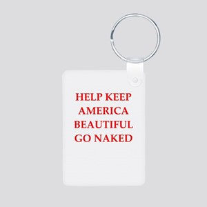 keep america Aluminum Photo Keychain