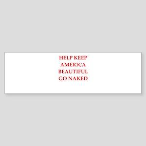 keep america Sticker (Bumper)