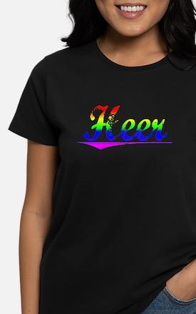Heer, Rainbow, Women's Dark T-Shirt