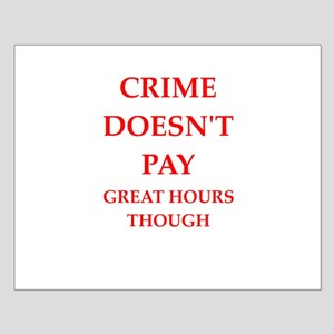 crime Small Poster