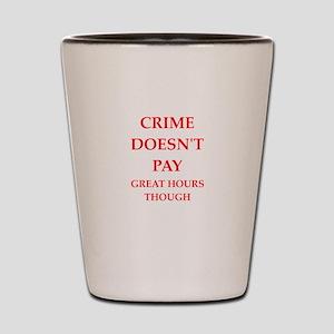 crime Shot Glass