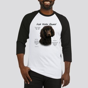 Irish Water Spaniel Baseball Tee