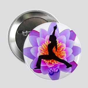 Lotus Yogini Button