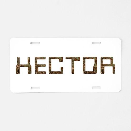Hector Circuit Aluminum License Plate