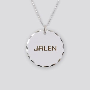 Jalen Circuit Necklace Circle Charm