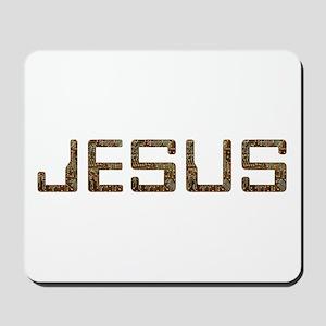 Jesus Circuit Mousepad